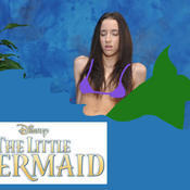 Belle knox little mermaid f35846